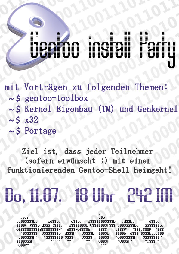 GentooInstallParty